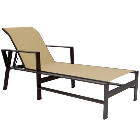 Trento Sling Adjustable Chaise Lounge