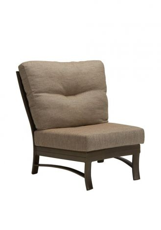 Ravello Armless Crescent Replacement Cushion